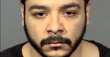 Mug shot of murder suspect Matthew Ayala