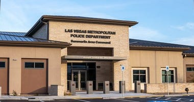 Exterior Shot of the New Metro Police Summerlin Command Center 1-28-20