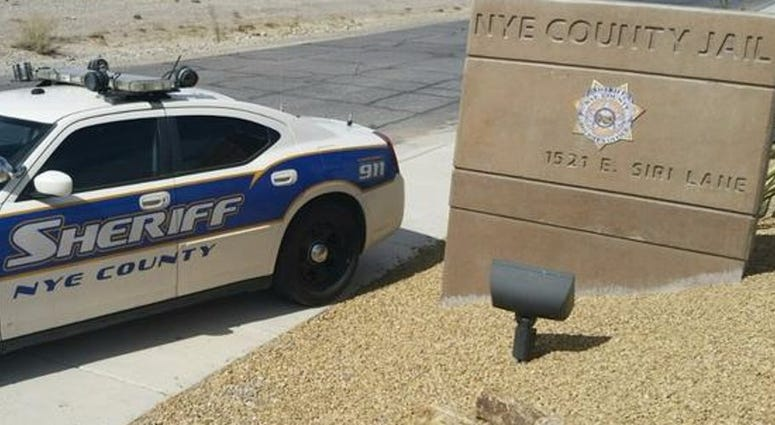 Photo of a Nye County police cruiser