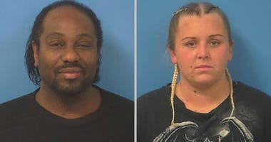 mug shots of couple accused of kidnapping on 1-5-20