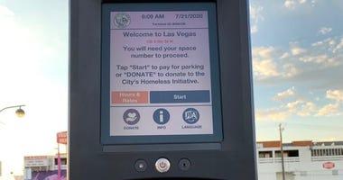 Touchless parking meters debuting in Downtown Las Vegas