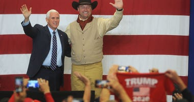 Mike Pence and Dean Heller
