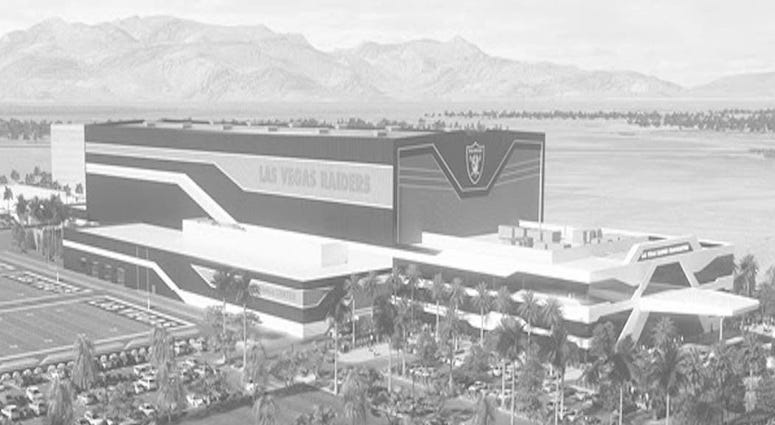 Artist rendering of the Henderson practice facility in Henderson