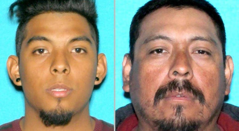 Homicide suspects wanted by LVMPD