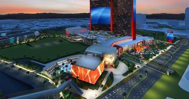 Artist Rendering Of Resorts World Las Vegas