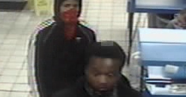 Surveillance footage of robbery suspects from 9-29-20