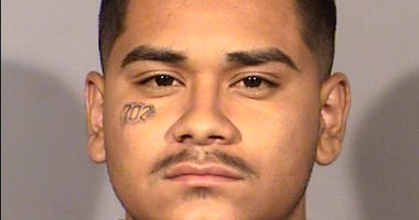 Mug shot of suspected Metro Police shooter Edgar Samaniego