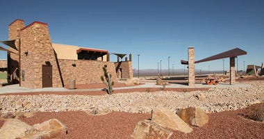 Rest Area on U.S. 95 south of Searchlight