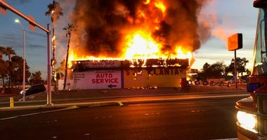 Sure store fire on 12-30-20