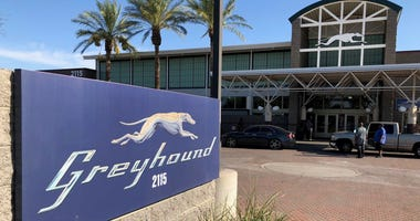 A Greyhound Bus Station In Phoenix, AZ