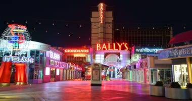 General view of Ballys hotel and casino