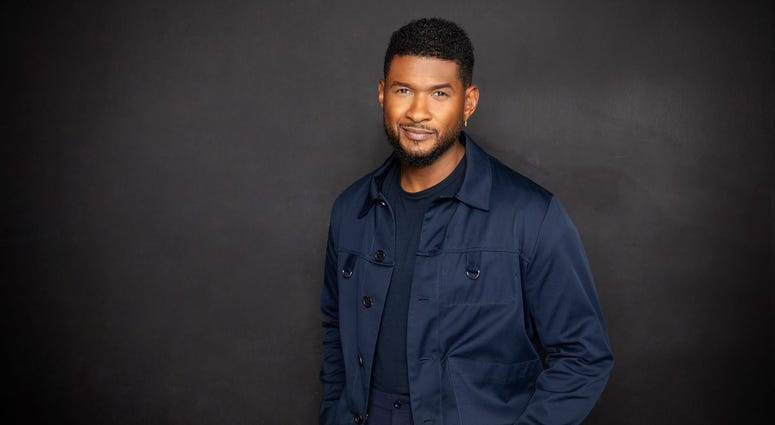 Publicity Pic of Usher For Upcoming residency at Caesars Palace