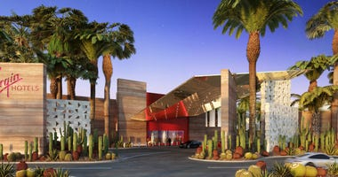 Artist rendering of the new Virgin Hotel, Las Vegas