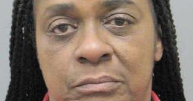 Mug shot of suspected pick-pocketer Valerie Ray