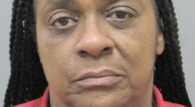 Mug shot of suspected pick-pocketer Valerie Ray