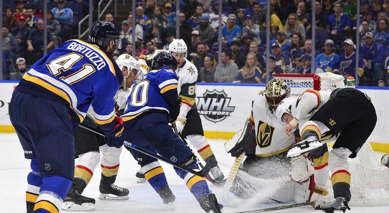 Vegas Golden Knights vs. St. Louis Blues