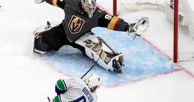 At Last: Vegas Solves Demko In 3-0 Game 7 Win Over Canucks