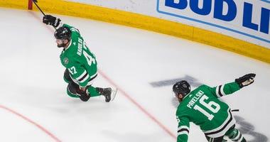 Radulov Scores 31 Seconds Into OT, Stars Beat Vegas 3-2