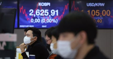 Asian Shares Mixed Despite Record High S&p 500