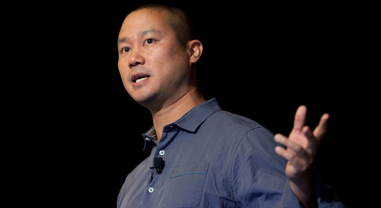 Tony Hsieh, ex-Zappos CEO, dies after house fire