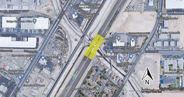 A sketch of upcoming I-15 bridge work on 9-3-20