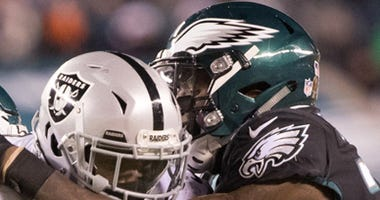 Raiders Fall To Eagles