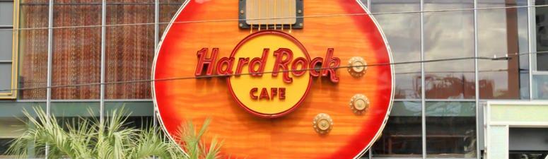 Hard Rock Cafe Demolition Happening Today