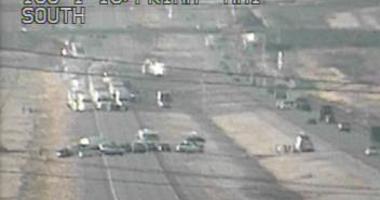 Scene of I-15 closure on 1-920
