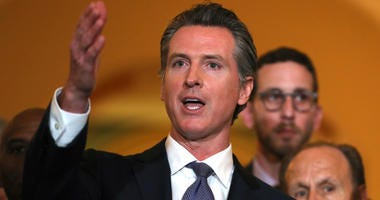 California Gov. Gavin Newsom speaks during a news conference at the California State Capitol on March 13, 2019 in Sacramento, California.