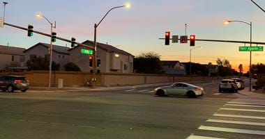 New Traffic Signal at Fort Apache and Arby