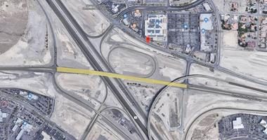 Map view of the Centennial Bowl area where the Northern Beltway meets U.S. 95