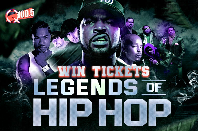 Legends Win Tickets  | Photograph of Ice Cube by @patrickhoelck