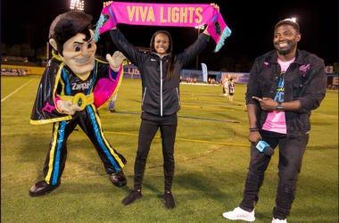 Bojo Emcee For Lights FC