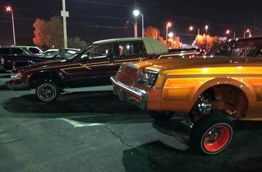 Lowriders Hit the Las Vegas Strip