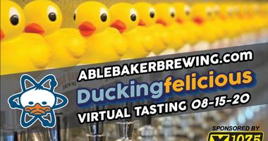 Able Baker Brewing Company DuckingFelicious Virtual Tasting