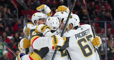 NHL: Vegas Golden Knights at Carolina Hurricanes