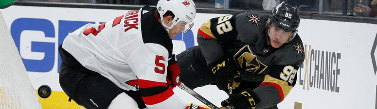 Lehner Gets First Shutout Of Season, Vegas Blanks Devils 3-0