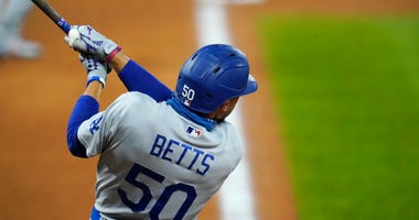 Betts, Dodgers Set Season High For Runs In Rout Of Rox