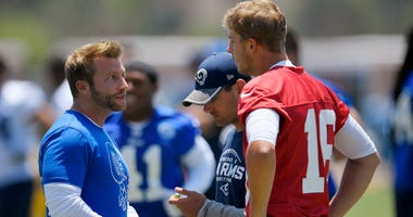 Friends as playoff foes: Packers' LaFleur faces Rams' McVay