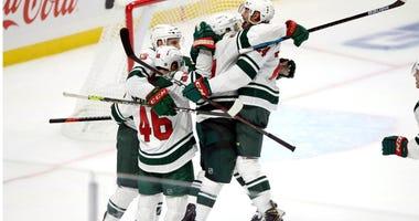 Kaprizov scores in OT in NHL debut, lifts Wild over Kings