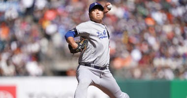 Dodgers Tie Franchise Win Mark, Beat Giants 2-0
