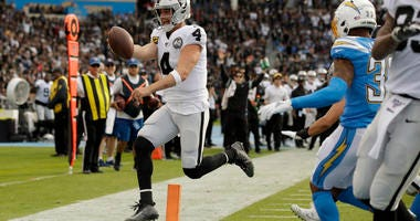Raiders Keep Playoff Hopes Alive With Win Over Chargers