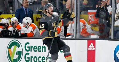 Pacioretty, Fleury Lead Golden Knights Past Flyers 5-4