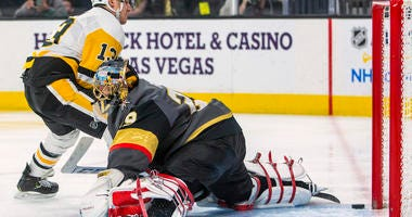 Kahun, Jarry lead Penguins Past Vegas 4-3
