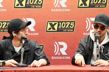 Twenty One Pilots host a press conference at Mandalay Bay