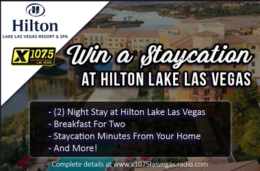 Win a Staycation at the Hilton at Lake Las Vegas!