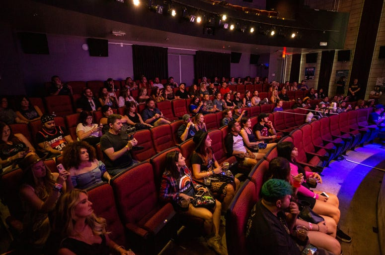 Phantogram SH On Stage4 Photos Courtesy Of Key Lime Photography