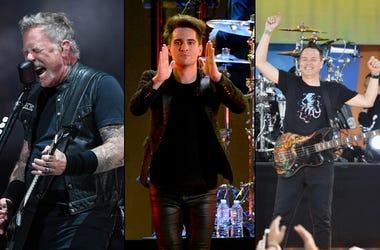 Metallica x Panic! At The Disco x blink-182