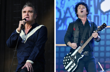 Morrissey and Billie Joe Armstrong