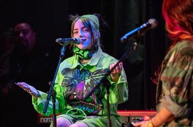 Billie Eilish On Stage7 Photos Courtesy Of Key Lime Photography